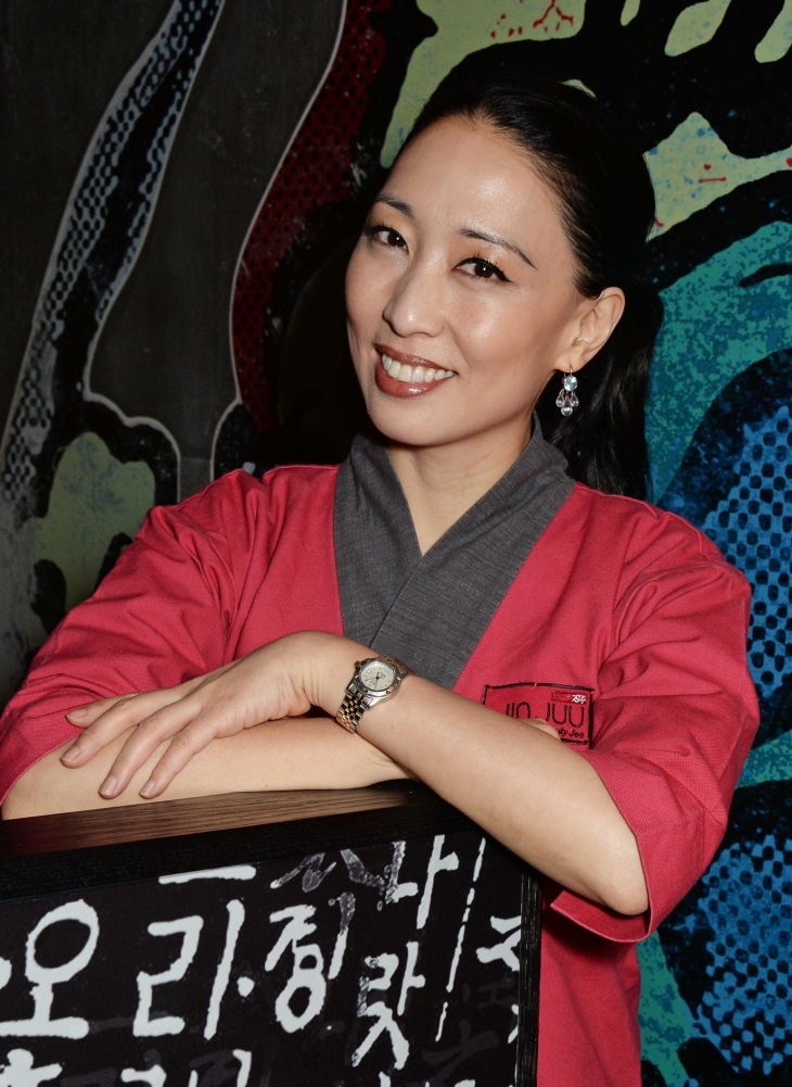Judy Joo Launches Jinjuu In Soho