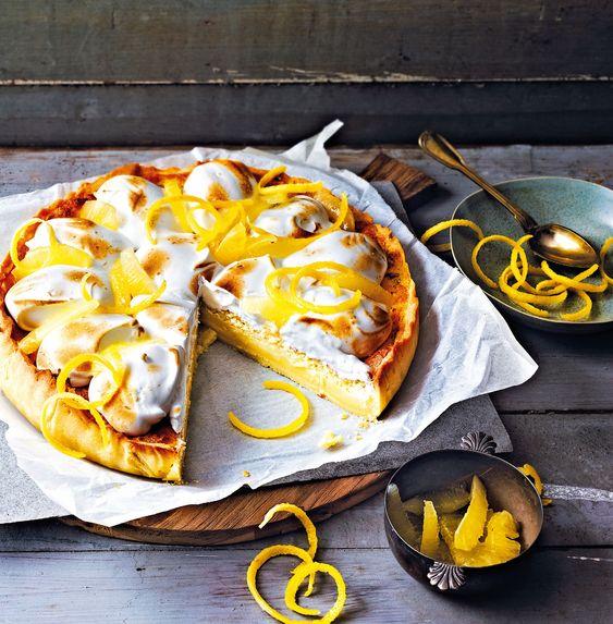 Christelle Huet-Gomez's Lemon Meringue Cake