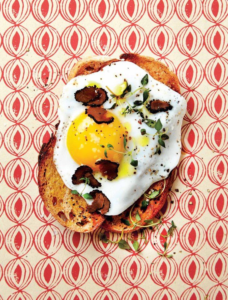 Truffles & Duck Egg Toast