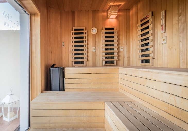 134.LCCC Relax&Detox Wet Area - Sauna