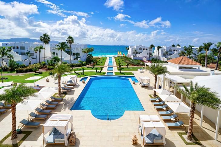 The Pool Deck at CuisinArt Golf Resort & Spa, Anguilla
