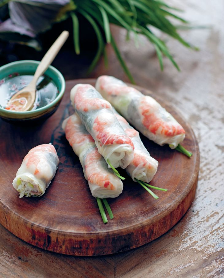 t Rice Paper Rolls With Prawns